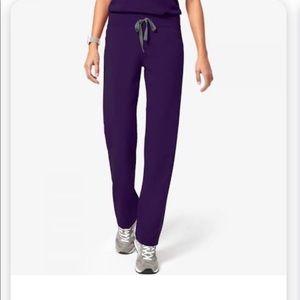 Purple figs scrub set